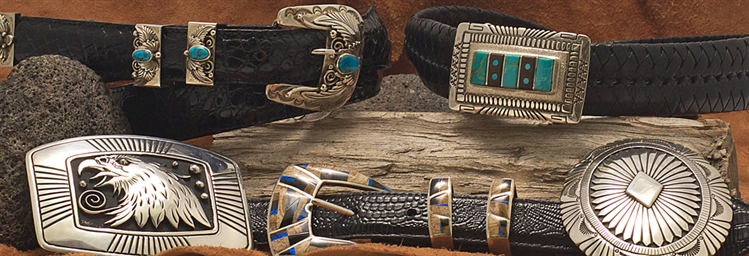 Native American Belts and Native American Buckles
