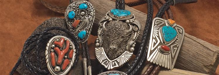 Native American Bolo Ties
