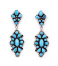 Emma Lincoln Turquoise Earrings