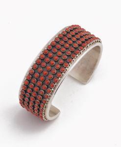 Paul Livingston Coral Bracelet