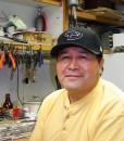 Navajo Zuni artist Native American Silversmith