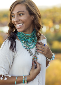 Boho Native American jewelry