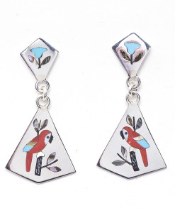 Zuni Ladie's Earrings