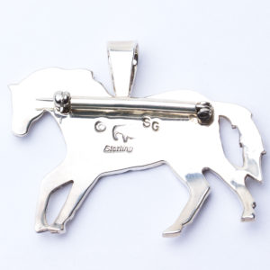Sam Gray horse pin