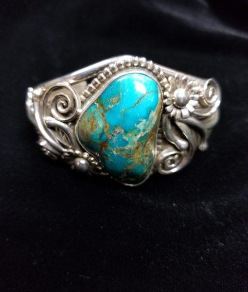 Navajo Henry Yazzie Turquoise Bracelet