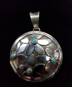 Navajo Turquoise Pendant